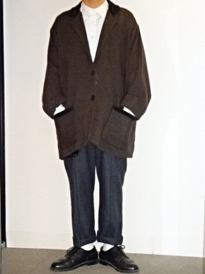"Design Tweed Coat ""FLAX\""_d0176398_203855100.jpg"