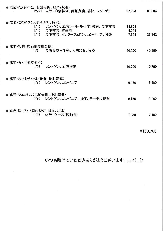 医療費ご寄付のお礼と支出のご報告_f0242002_13161.jpg
