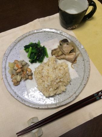 小松菜の韓国のり和え_d0235108_06232067.jpg