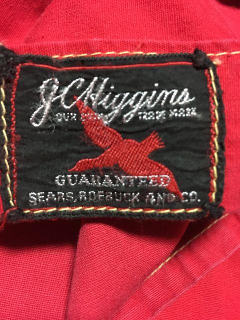 1/30(土)入荷!〜60\'s J.C.Higgins   Sears コットンパーカー _c0144020_14231141.jpg