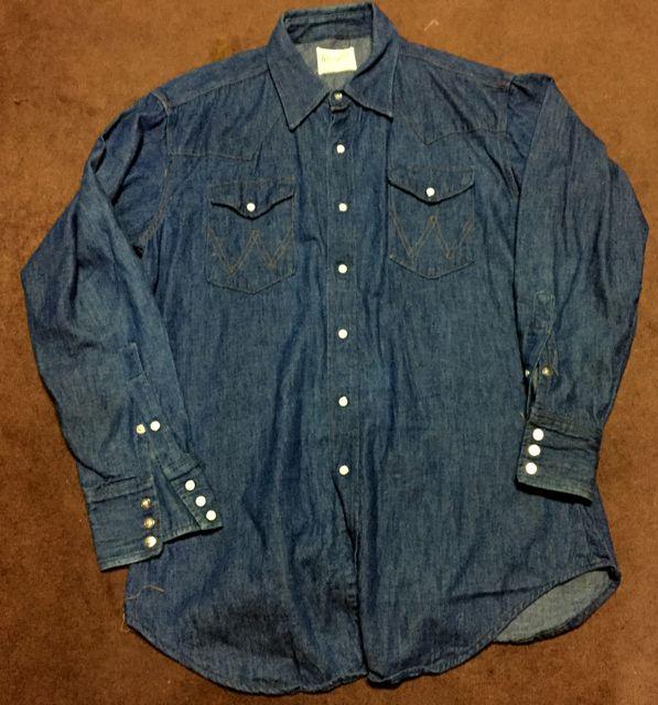 1/30(土)入荷!60s〜70s Wrangler Denim Western Shirts!_c0144020_15194097.jpg