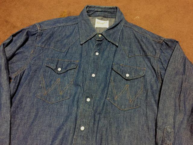 1/30(土)入荷!60s〜70s Wrangler Denim Western Shirts!_c0144020_15194199.jpg