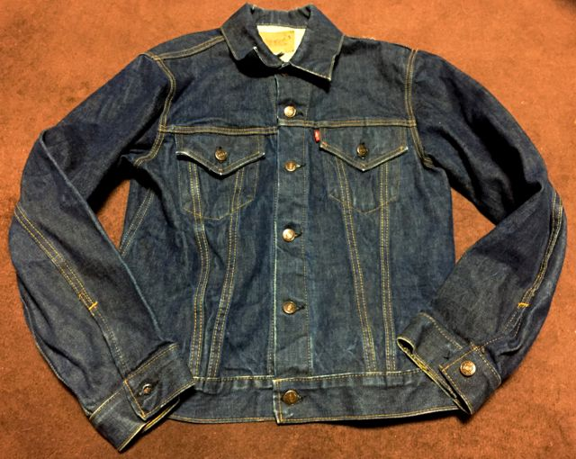 1/30(土)入荷!70s Levi\'s 70505 BIG E denim Jacket!_c0144020_161350100.jpg
