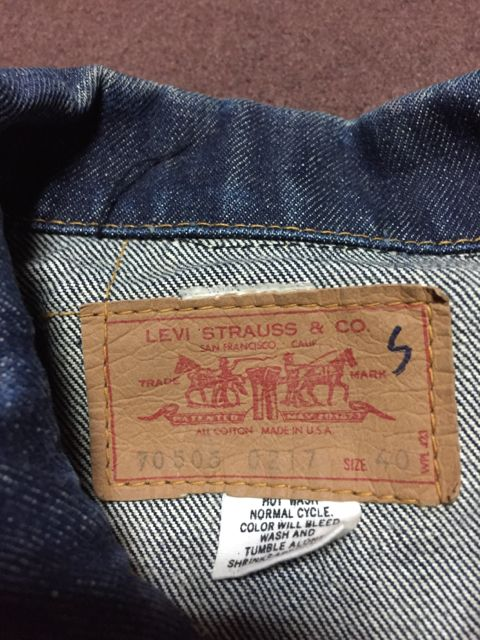 1/30(土)入荷!70s Levi\'s 70505 BIG E denim Jacket!_c0144020_1614018.jpg