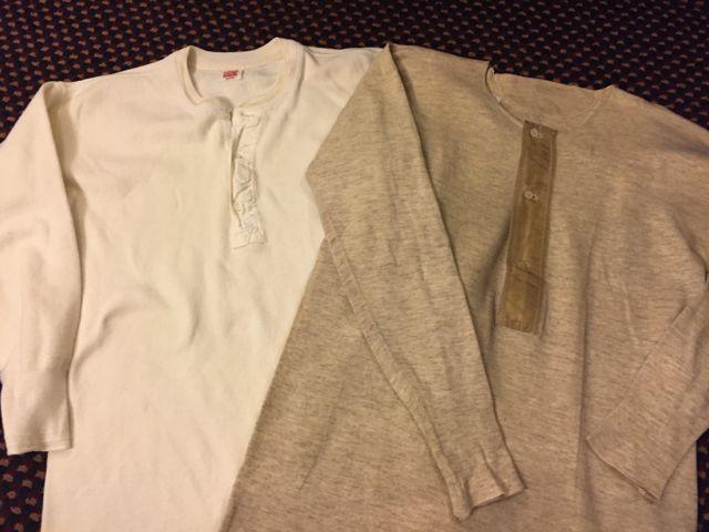 1/30(土)入荷!40s HANES ヘンリーネックシャツ&デッドストック known ヘンリーシャツ!_c0144020_161930.jpg