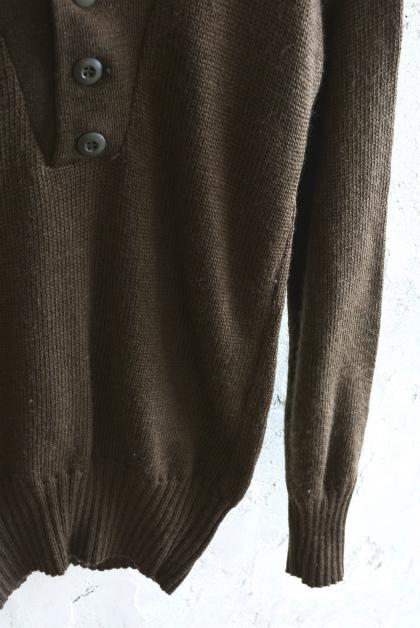 USA army henley neck knit_f0226051_13592783.jpg