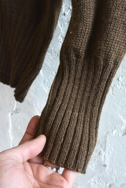 USA army henley neck knit_f0226051_13593057.jpg