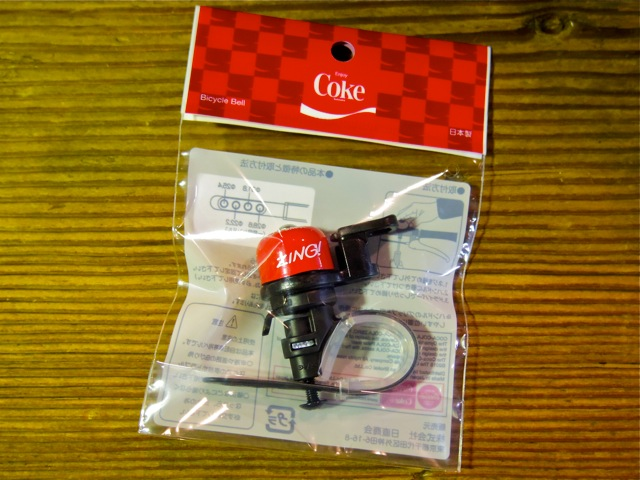 COCA-COLA BICYCLE BELL_e0132852_2010393.jpg