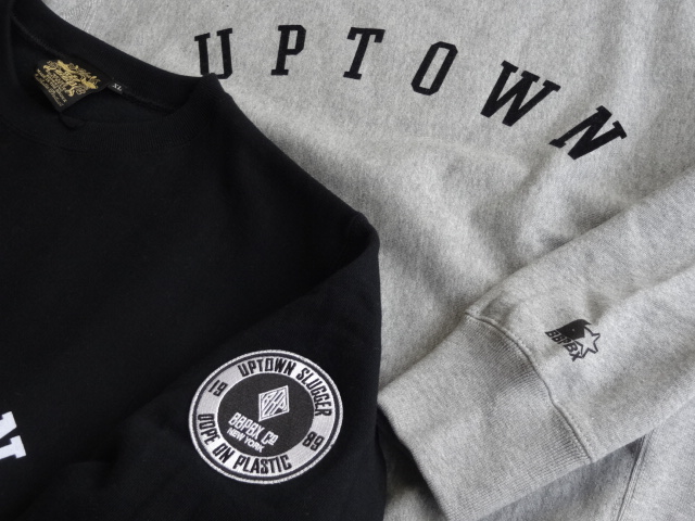 BBP Uptown Slugger Crew Neck Sweat Shirt!!!_a0221253_19184380.jpg