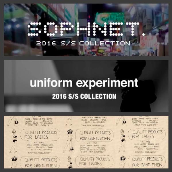 SOPHNET., UE & visvim 2016 S/S - It\'s starting soon!!_c0079892_19305677.png