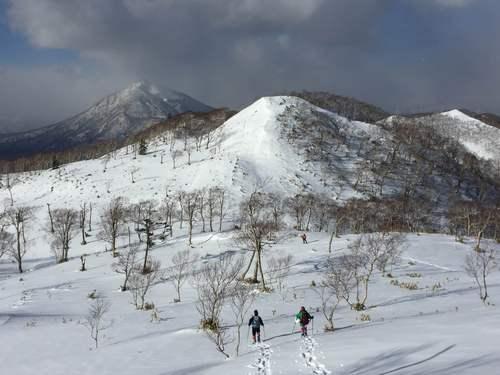 紋別岳から748mピーク、1月27日-同行者からの写真-_f0138096_1065921.jpg