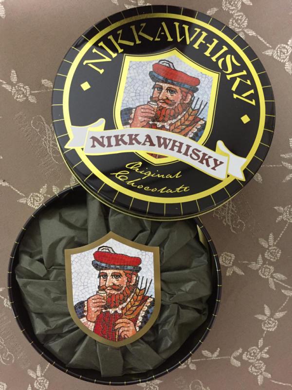 NIKKA WHISKY チョコレート_f0144003_14244371.jpg