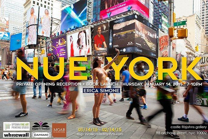 ニューヨークの街角でのフルヌードのセルフ・ポートレート写真展、Nue York by Erica Simone_b0007805_6345831.jpg