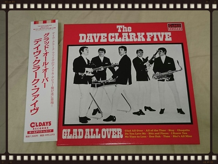 THE DAVE CLARK FIVE / GLAD ALL OVER 紙ジャケ_b0042308_9594268.jpg