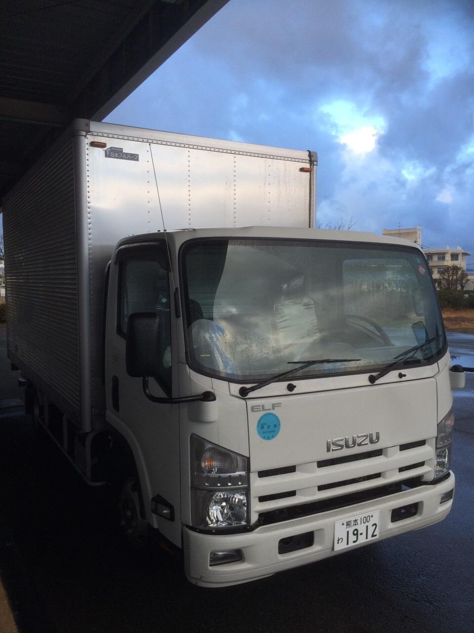 新車のトラックがもうすぐ来ます!_e0184224_09065123.jpg