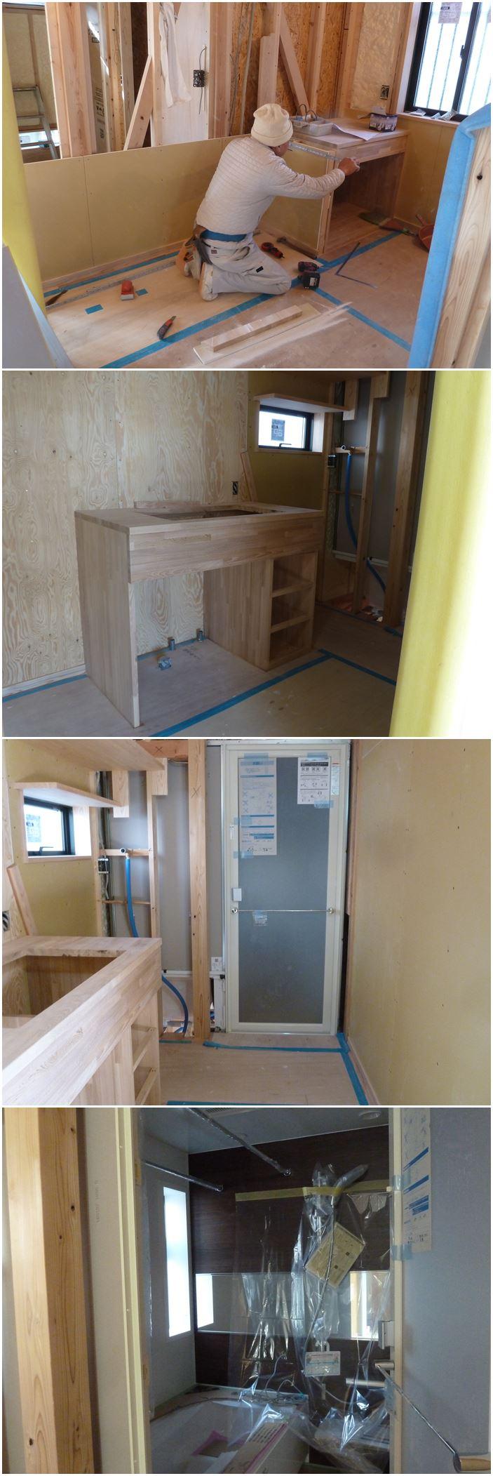 横浜市青葉区の家☆造作工事が進んでいます。_c0152341_114234.jpg