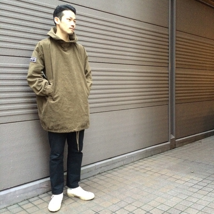 "【RECOMMEND ITEM】-C.E ""INFLUENCE PULLOVER JACKET\""-_b0121563_17190014.jpg"