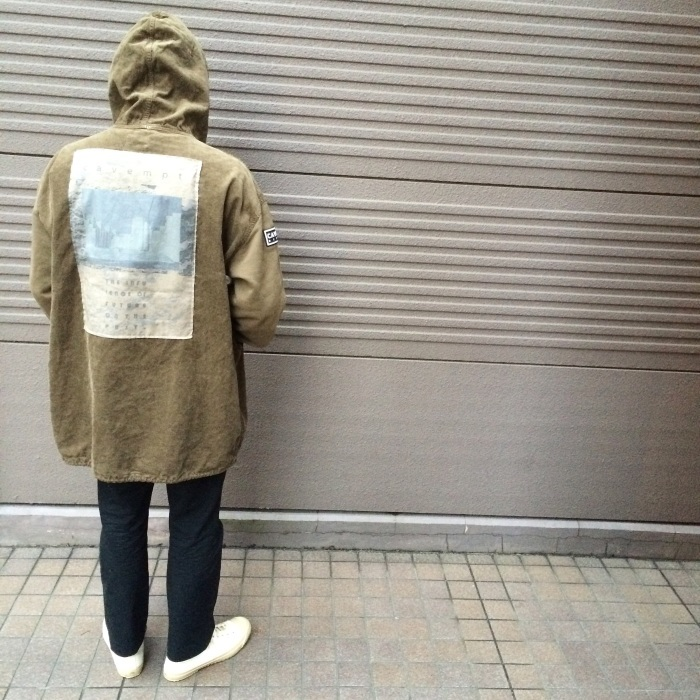 "【RECOMMEND ITEM】-C.E ""INFLUENCE PULLOVER JACKET\""-_b0121563_17240320.jpg"