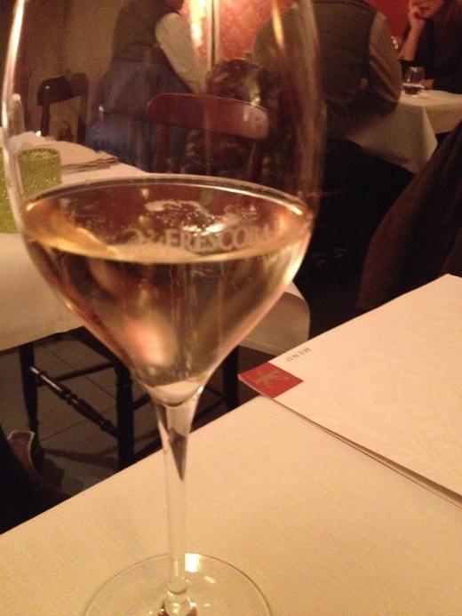 フィレンツェ中心街でいただけるワイナリーのレストラン FRESCOBALDI♪_a0136671_543918.jpg