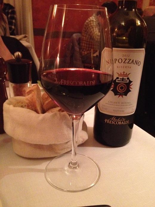 フィレンツェ中心街でいただけるワイナリーのレストラン FRESCOBALDI♪_a0136671_5504170.jpg