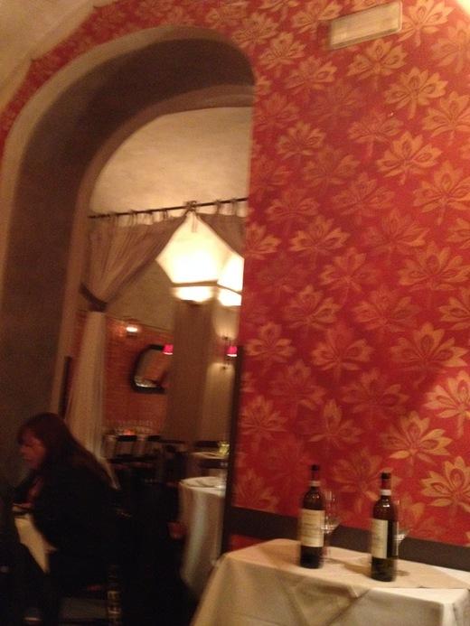 フィレンツェ中心街でいただけるワイナリーのレストラン FRESCOBALDI♪_a0136671_5543235.jpg