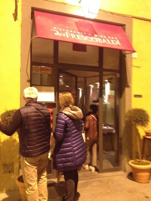 フィレンツェ中心街でいただけるワイナリーのレストラン FRESCOBALDI♪_a0136671_557559.jpg
