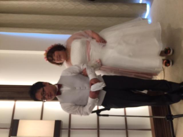 Hちゃん、結婚式_b0136590_17443970.jpg