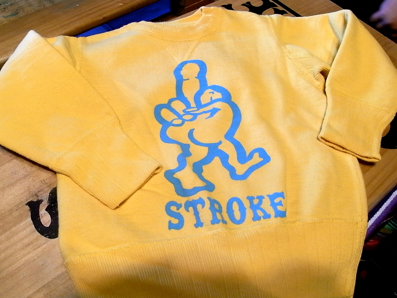 1/31 STROKE PRINT&STENCIL WORKS !!!!_d0101000_18292523.jpg