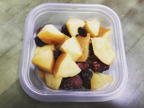 リンゴの簡単薬膳で「気」を補給の週末_d0285416_22043021.jpg