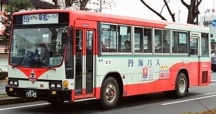 丹後海陸交通 いすゞU-LV224L? +IK_e0030537_21470089.jpg