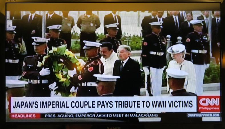 天皇・皇后両陛下のフィリピン訪問と「御接見」 - フィリピンでの報道_a0109542_2301391.jpg