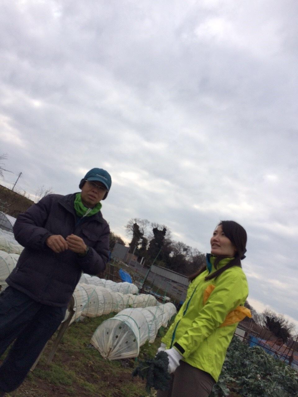 本日は総勢5名 各野菜順調に収穫しました _c0222448_19322667.jpg