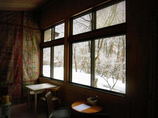 pace aroundで雪のお花見 @御代田_f0236260_2120657.jpg