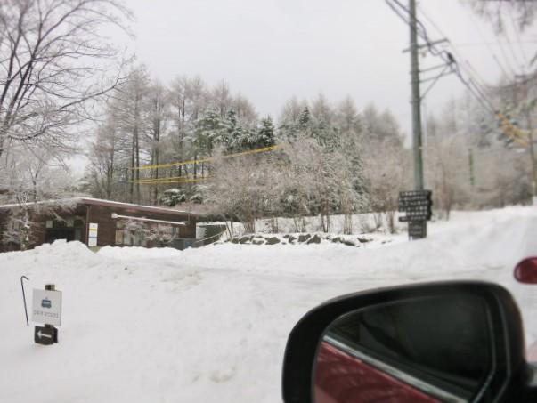 pace aroundで雪のお花見 @御代田_f0236260_2238341.jpg