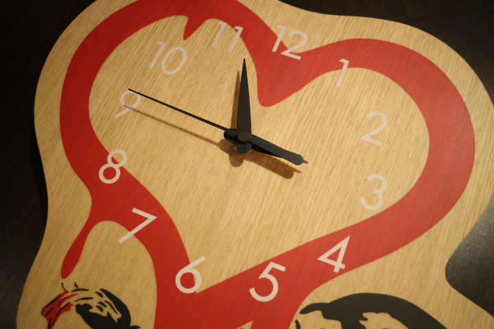 【NEW ARRIVAL】WALL CLOCK -LOVE RAT x KARIMOKU-_b0121563_1555662.jpg