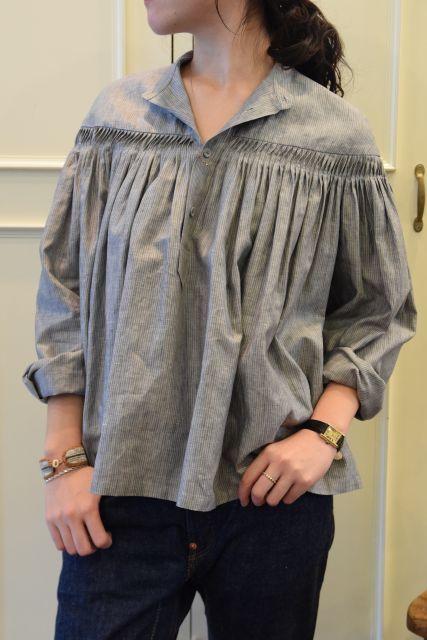 Scye の リネンタックシャツ  '16SS  ・ ・ ・_b0110586_15084378.jpg
