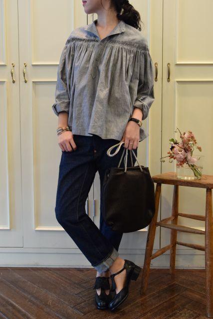 Scye の リネンタックシャツ  '16SS  ・ ・ ・_b0110586_15124921.jpg