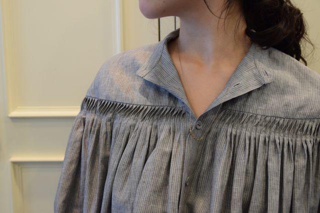 Scye の リネンタックシャツ  '16SS  ・ ・ ・_b0110586_15171501.jpg