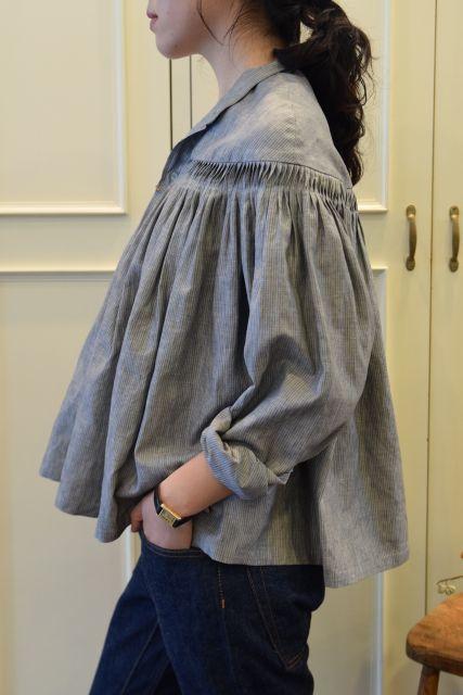Scye の リネンタックシャツ  '16SS  ・ ・ ・_b0110586_15173992.jpg