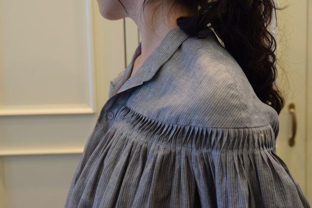 Scye の リネンタックシャツ  '16SS  ・ ・ ・_b0110586_15174474.jpg