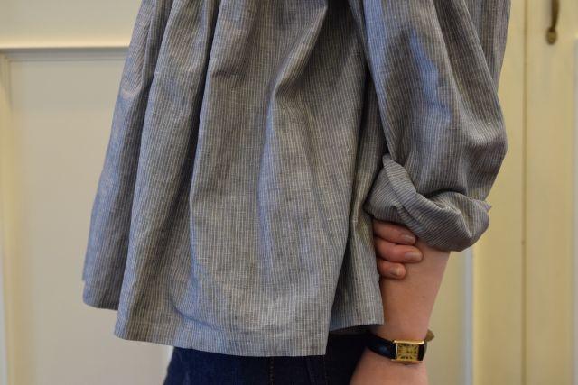 Scye の リネンタックシャツ  '16SS  ・ ・ ・_b0110586_15175181.jpg