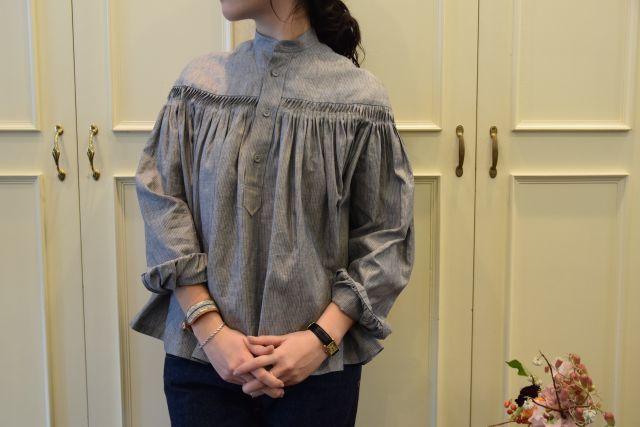 Scye の リネンタックシャツ  '16SS  ・ ・ ・_b0110586_15182061.jpg