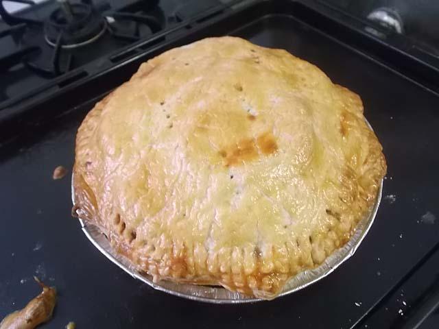 柚子ジャム入りチーズケーキとアップルパイ_f0019498_1642535.jpg