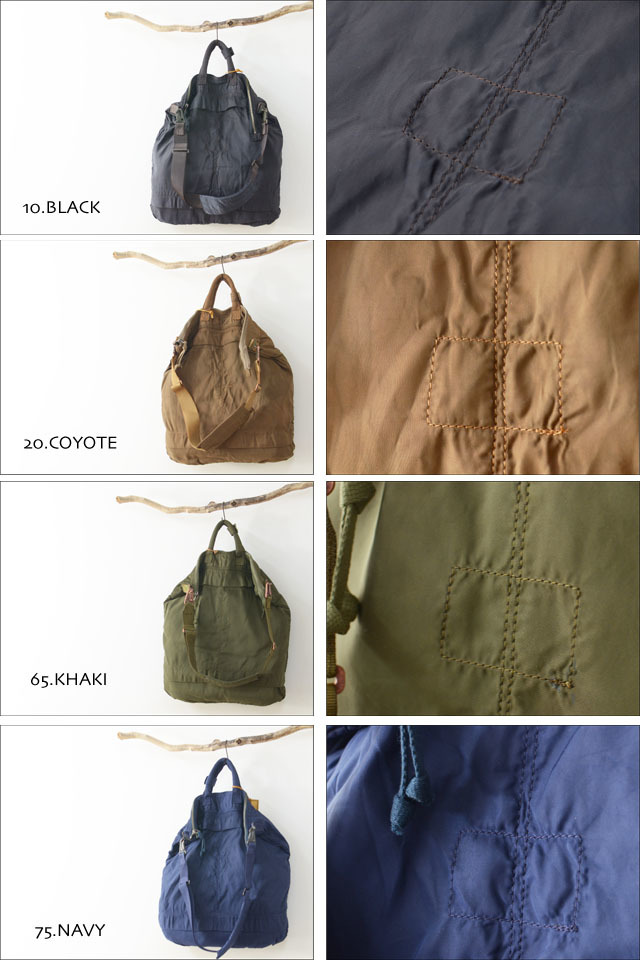 "SLOW [スロウ] VINTAGE MILITARY ""helmet bag L\"" [49S55E] MEN\'S/LADY\'S_f0051306_11372011.jpg"