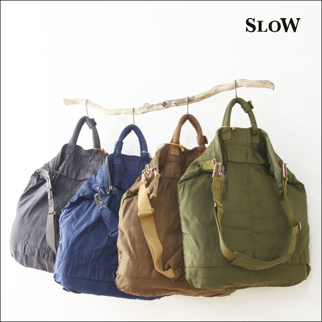 "SLOW [スロウ] VINTAGE MILITARY ""helmet bag L\"" [49S55E] MEN\'S/LADY\'S_f0051306_11372034.jpg"