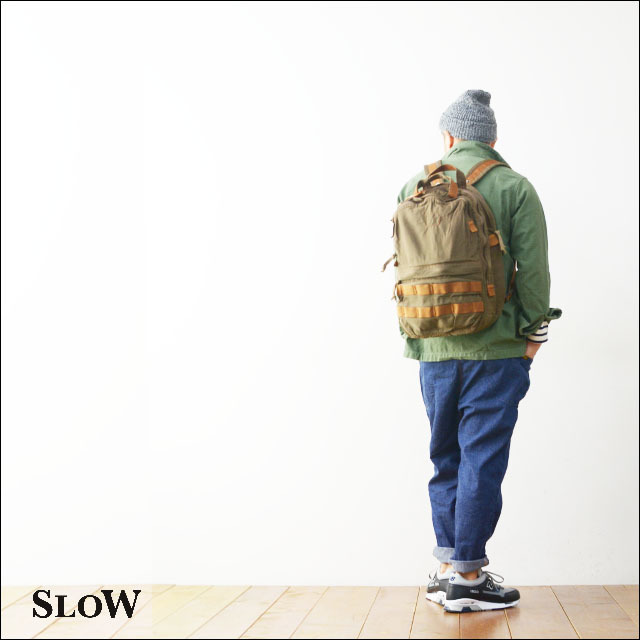 "SLOW [スロウ] VINTAGE MILITARY ""2way rucksack\"" [49S57E] MEN\'S/LADY\'S_f0051306_11411365.jpg"