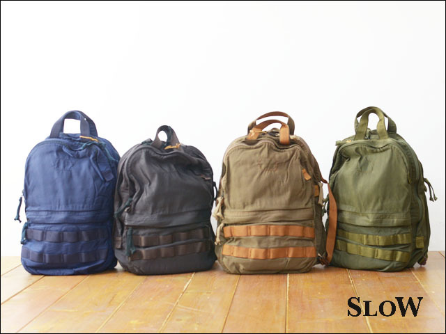 "SLOW [スロウ] VINTAGE MILITARY ""2way rucksack\"" [49S57E] MEN\'S/LADY\'S_f0051306_11411373.jpg"