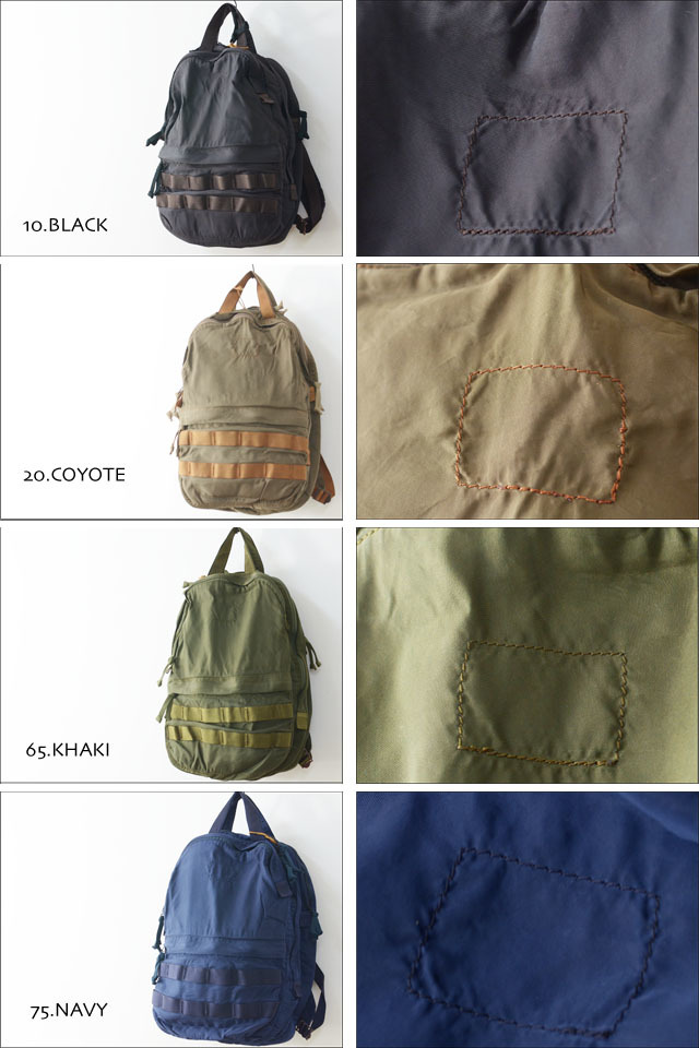 "SLOW [スロウ] VINTAGE MILITARY ""2way rucksack\"" [49S57E] MEN\'S/LADY\'S_f0051306_11411380.jpg"