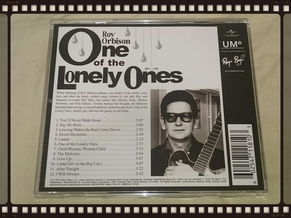 ROY ORBISON / ONE OF THE LONELY ONES_b0042308_1834271.jpg