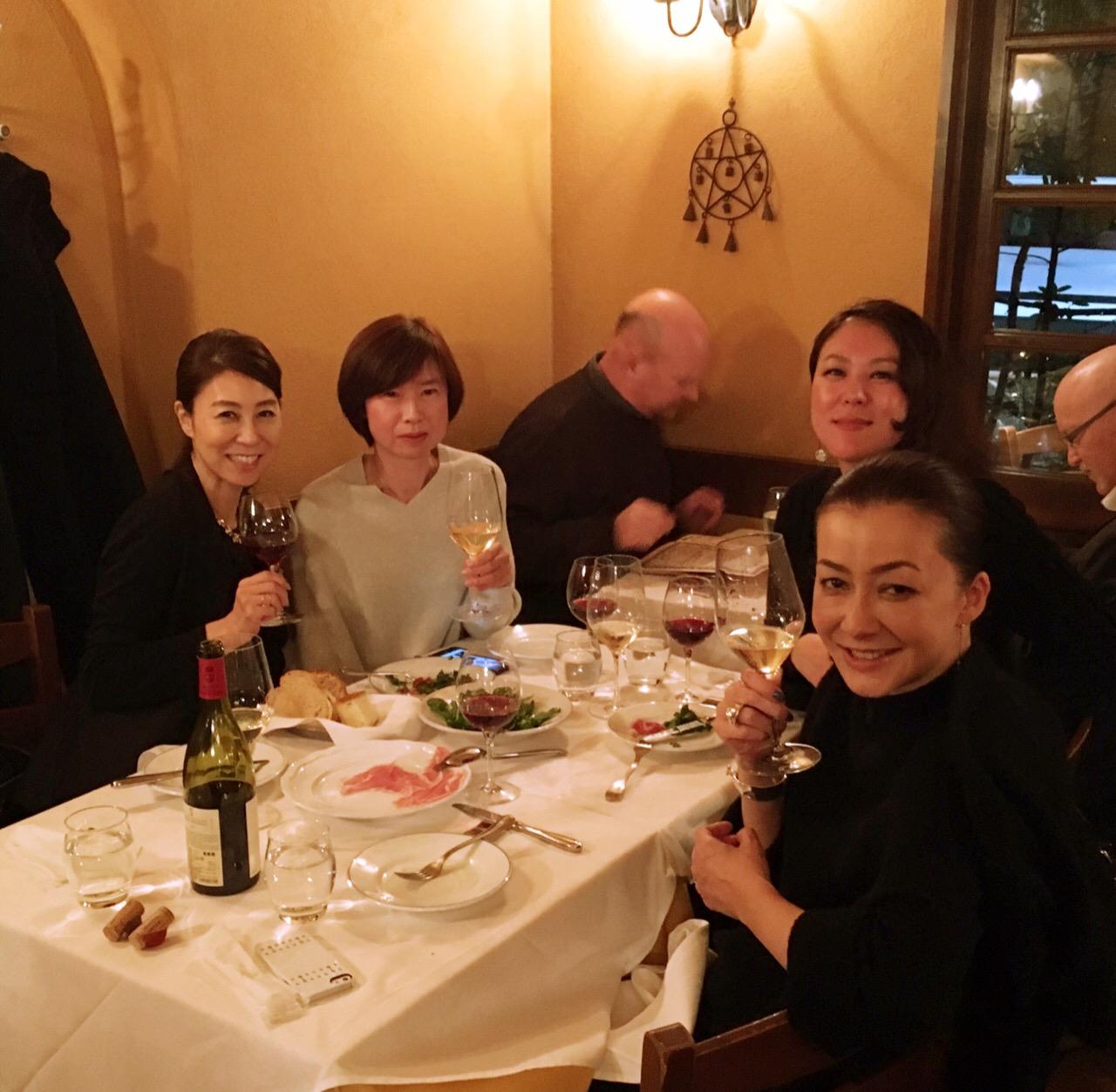 週末はイタリアンで深更に及ぶ知己の会をenjoy♪♪@ドンチッチョ_a0138976_1941135.jpg